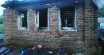 Пожар в Лесном Вьясе. Фото пресс-службы ГУ МЧС РФ по Пензенской области