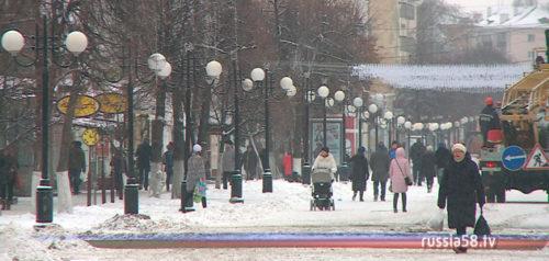 Улица Московская в Пензе
