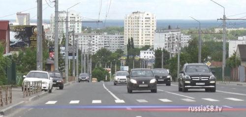 Улица Карпинского в Пензе