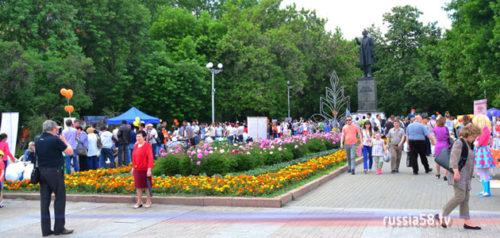 Уличный фестиваль «Добрая Пенза»