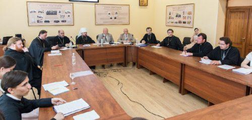 Защита выпускных квалификационных работ. Фото Пензенской духовной семинарии