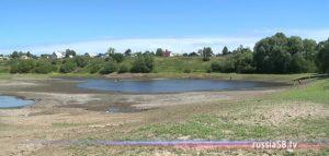 Пруд в селе Соловцово Иссинского района Пензенской области