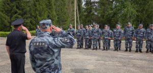 Сотрудники управления Росгвардии по Пензенской области