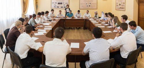 Экзамен. Фото Пензенской духовной семинарии