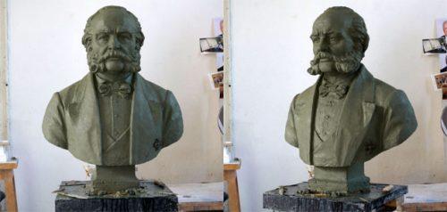 Бюст Лаврентия Загоскина