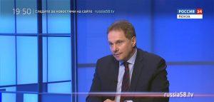 Министр физической культуры и спорта Пензенской области Григорий Кабельский