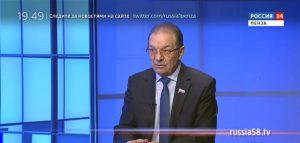 Глава города Пензы Николай Тактаров