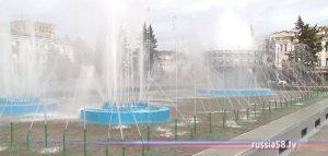 Главный фонтан в Пензе
