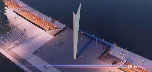 Проект благоустройства набережной реки Суры в Пензе