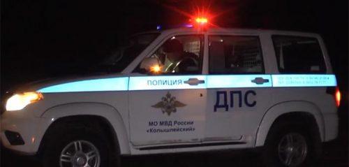 Фото - скриншот с видео, предоставленного УГИБДД по Пензенской области