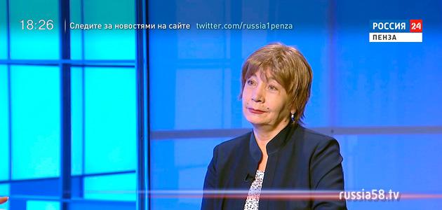 Заслуженная артистка России Галина Репная