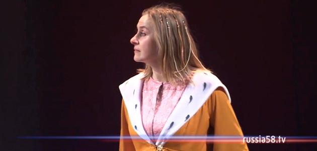 Актриса пензенского драмтеатра Наталья Старовойт