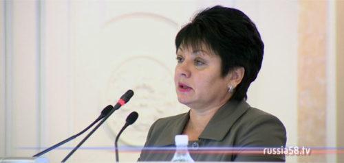 Министр финансов Пензенской области Любовь Финогеева