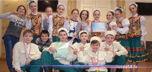 Детский ансамбль танца «Веснушки»