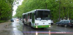 Автобус №130 в Пензе