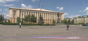 Площадь Ленина в Пензе