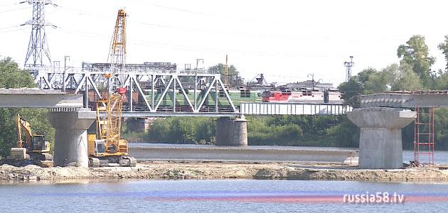 Ремонт Свердловского моста в Пензе