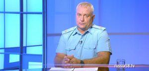 Начальник главного управления МЧС России по Пензенской области Сергей Козлов