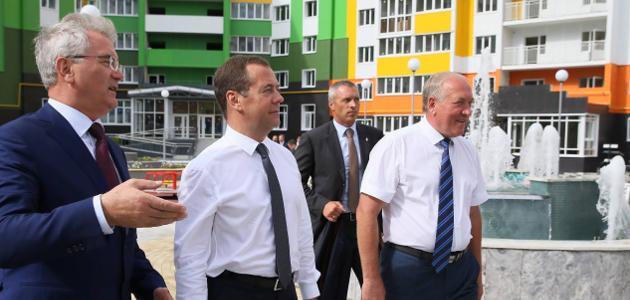 Фото из официального аккаунта Дмитрия Медведева в Facebook