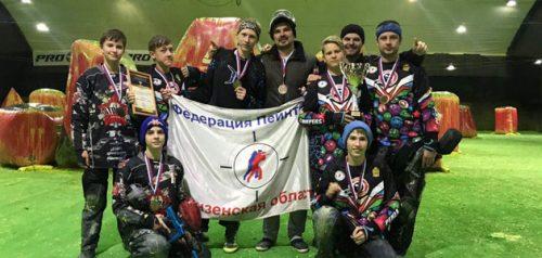 Пейнтбольная команда «Кемперы» из Пензы