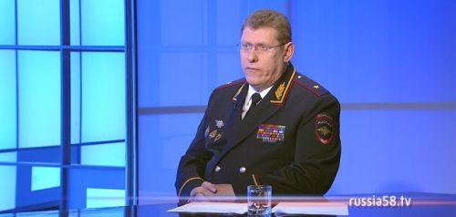 Начальник УМВД России по Пензенской области Юрий Рузляев
