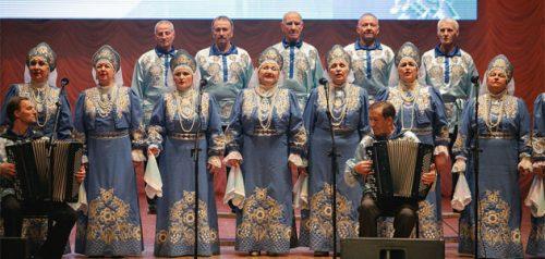 Русский народный хор «Душа России», город Пенза. Фото Евгения Флура и Сергея Лысенко