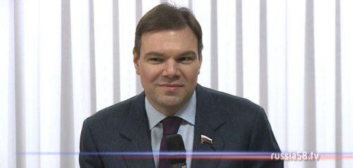 Депутат Госдумы РФ Леонид Левин