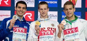 Фото Европейской лиги плавания