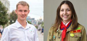 Евгений Шелковой и Дарья Никитина