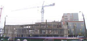 Строительство Пензенского цирка