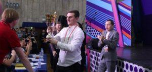 Кубок чемпионов центральных лиг КВН. Фото kvn.ru