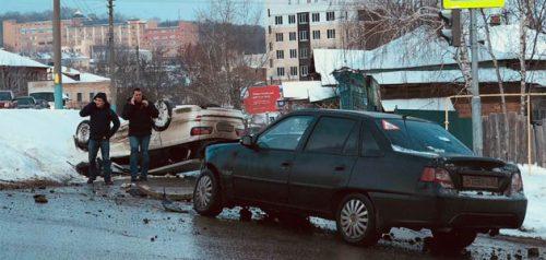 ДТП. Фото Сергея Колесникова