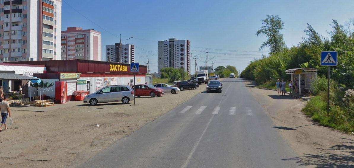Улица 65-летия Победы в Пензе