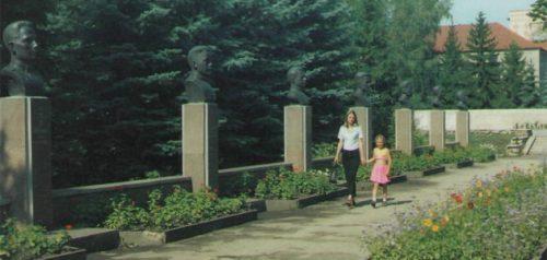 Аллея Героев. Фото пресс-службы администрации Сердобска