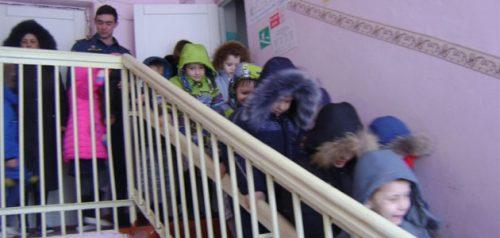 Учебная эвакуация в детском саду. Фото пресс-службы ГУ МЧС РФ по Пензенской области
