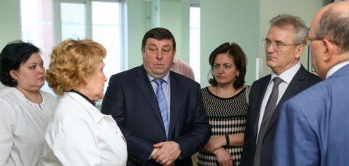 Петр Глыбочко в Пензе. Фото пресс-службы правительства Пензенской области