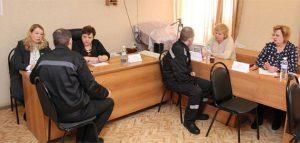 Консультации в колонии. Фото пресс-службы УФСИН РФ по Пензенской области