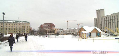 Площадь имени В.И. Ленина в Пензе