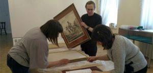 Картины Александра Орловского. Фото Пензенской картинной галереи