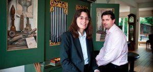 Сюзанна Веерман и Вим Дус. Фото wensmusic.nl