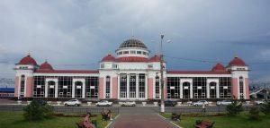 Вокзал в Саранске. Фото Отзыв.ру
