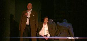 Спектакль «Нам никогда не позабыть...» в Пензенском драмтеатре