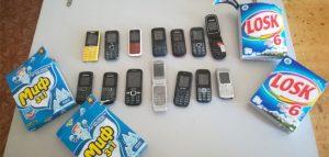Сотовые телефоны. Фото пресс-службы УФСИН России по Пензенской области
