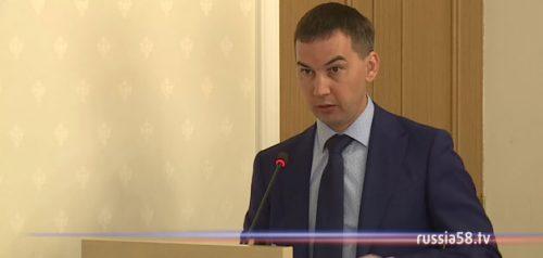 Руководитель Пензастата Максим Уханов