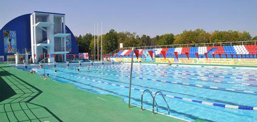 Открытый плавательный бассейн Училища олимпийского резерва. Фото пресс-службы Минспорта Пензенской области