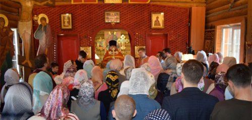 Храм Георгия Победоносца города Заречного Пензенской области. Фото епархии