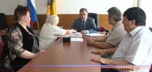 Валерий Лидин проводит прием граждан