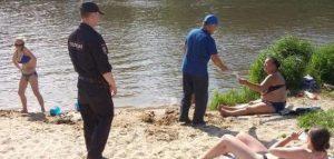 Рейд по местам отдыха у воды. Фото пресс-службы городской администрации