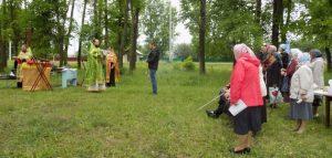 Выездное богослужение в Бессоновском районе. Фото Пензенской епархии