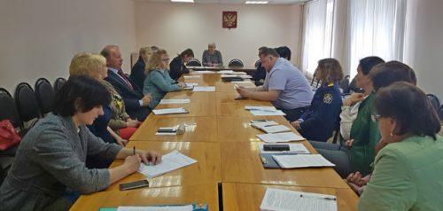 Заседание совета профилактики при министерстве образования Пензенской области